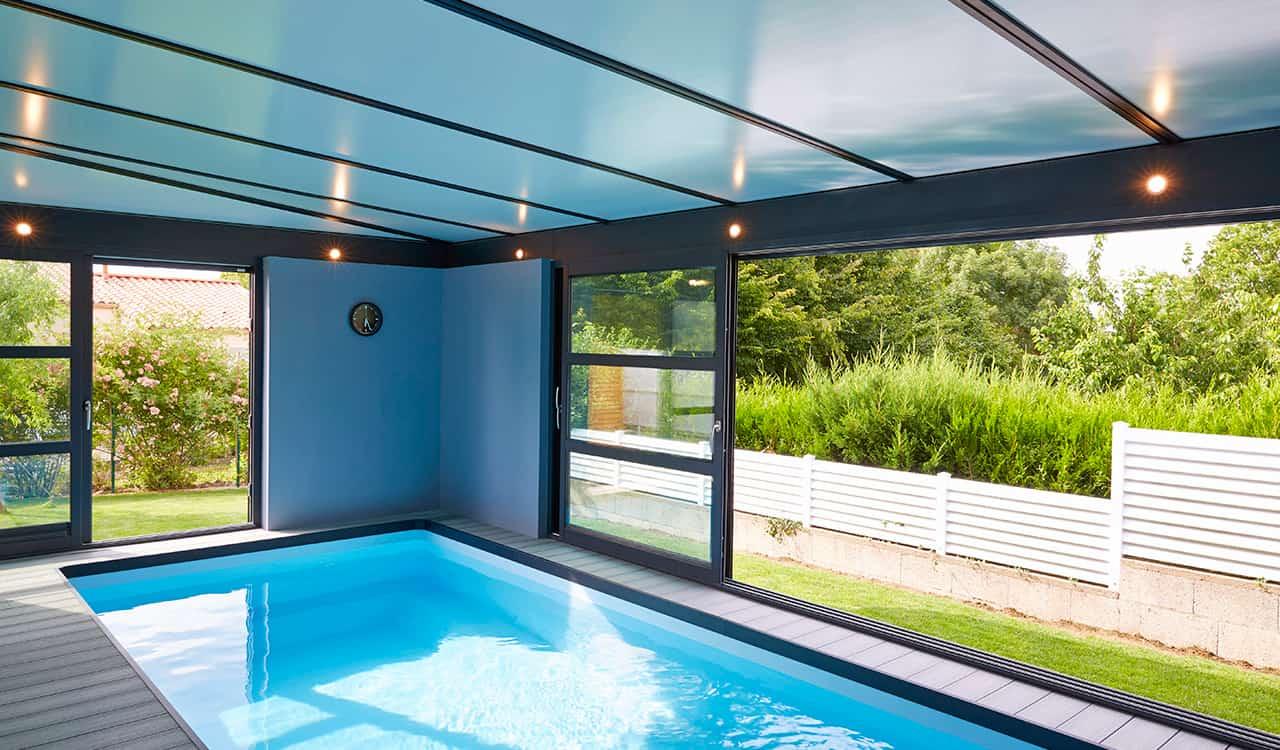 Abri Veranda Pour Spa véranda piscine et spa - véranda alu sur mesure - rénoval