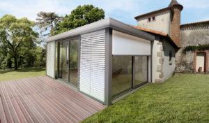 Pergola évolutive jusqu'à la véranda style architectural