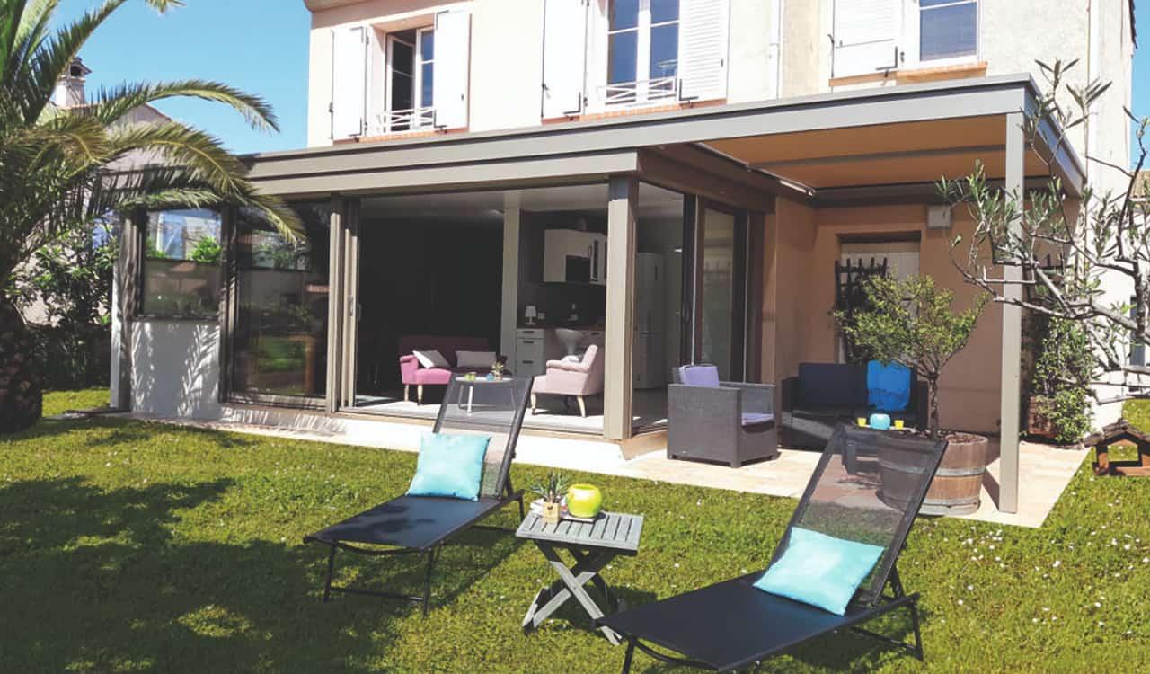 Extension Maison Terrasse Couverte couvrir une terrasse - rénoval