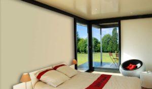 Véranda extension chambre parentale avec faux plafond