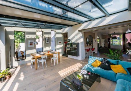 Véranda extension salon salle à manger - Rénoval Nantes Design Véranda 44