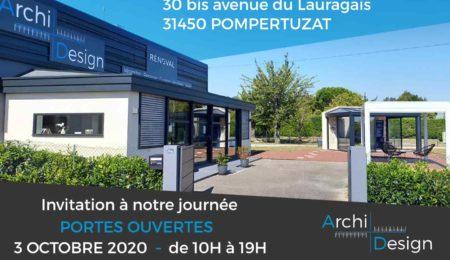 Rénoval véranda 31 - portes ouvertes Archi Design Plus - octobre 2020