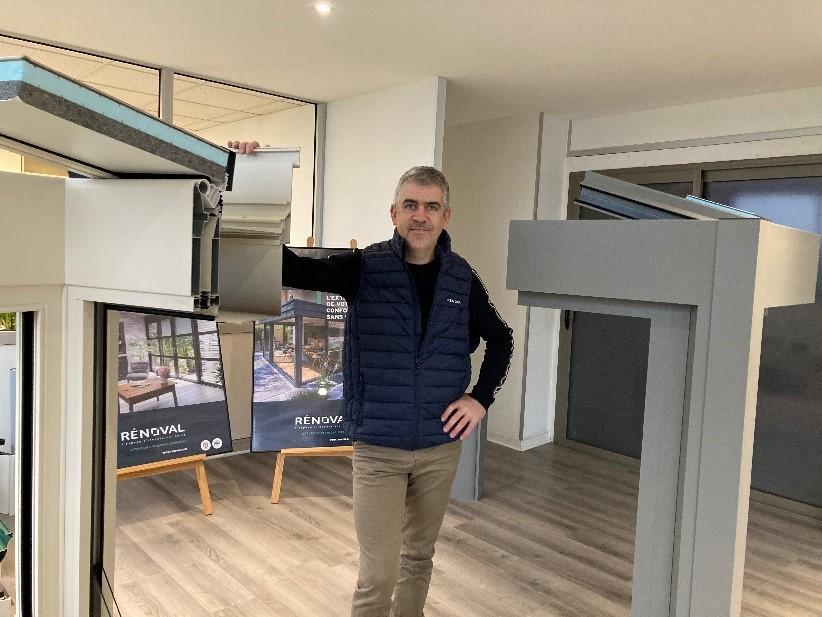Xavier Burgaud, gérant de la société Bleu Ciel à Vern-sur-Seiche, expert agréé RENOVAL VERANDAS 35 - Rennes